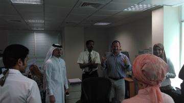 Green Energy Qatar OOREDOO TRAINING